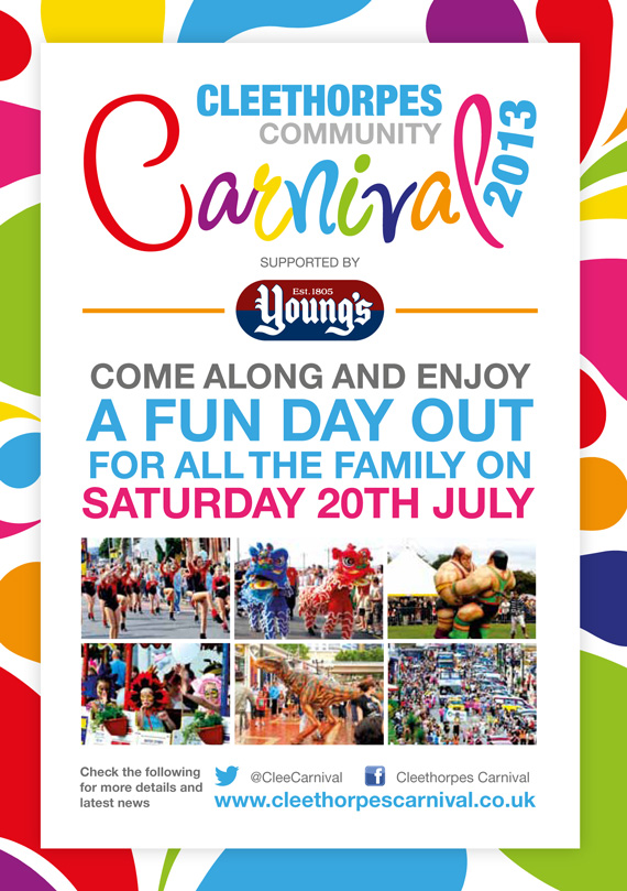 Cleethorpes Community Carnival Promotional Material | Urban Juice ...