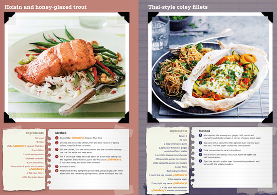 Sainsburys a5 recipe flyer youngs back 1 forumfinder Images